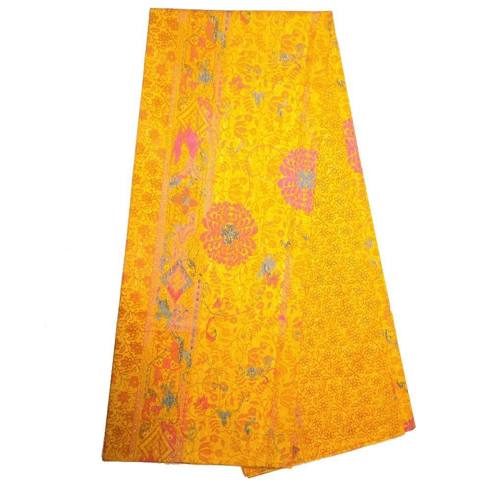 Bassetti Granfoulard Furnishing Cloth Mizar V4 Orange 270x270 Cm