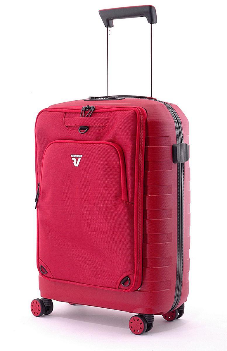 491357a2ec Valigia Trolley rigido cabina Roncato RV rosso divisibile con .