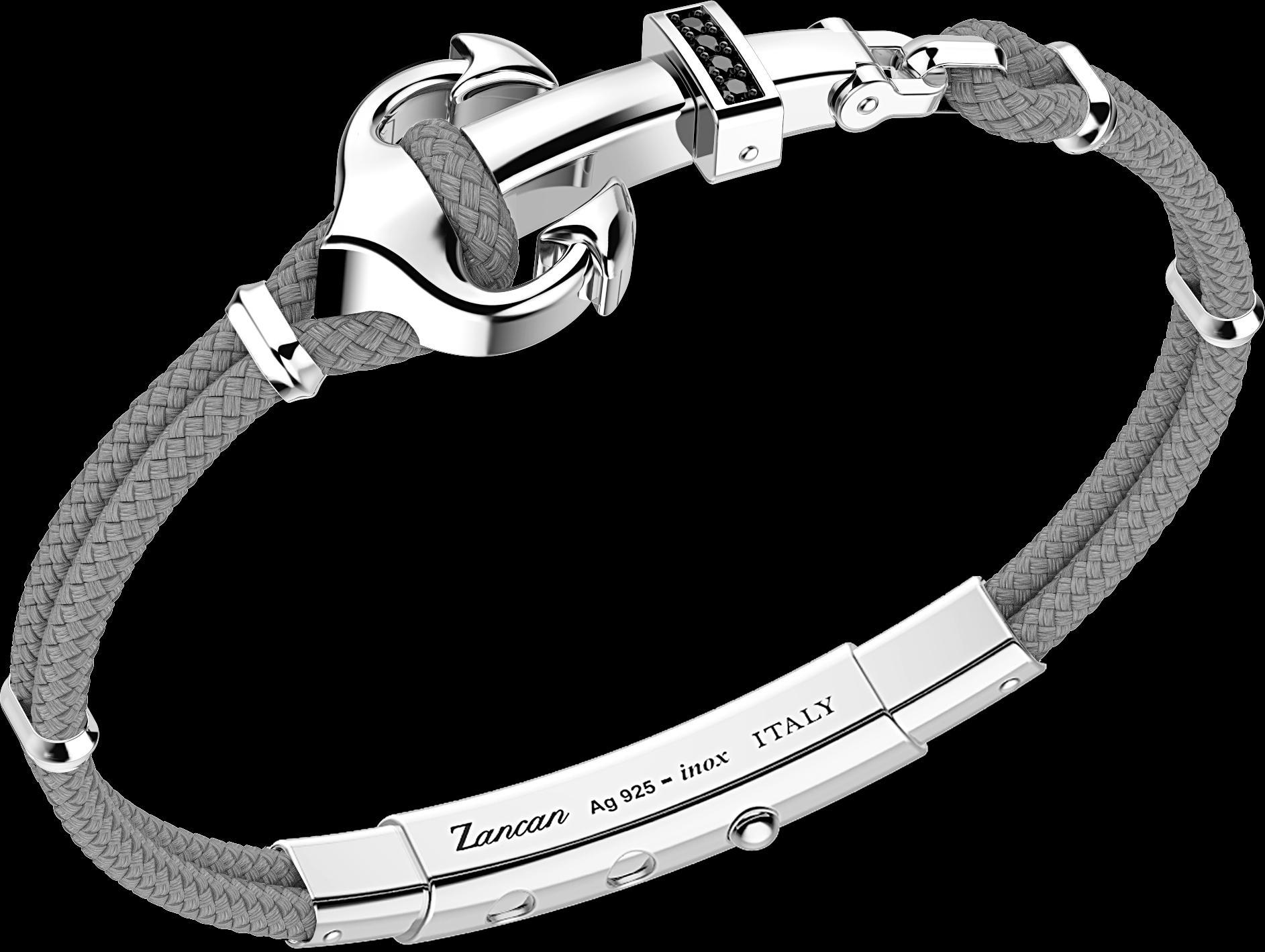 54988c3e5cae45 Bracciale uomo Zancan collezione Nautica EXB623-GR - FAGIANI GIOIELLI SRL