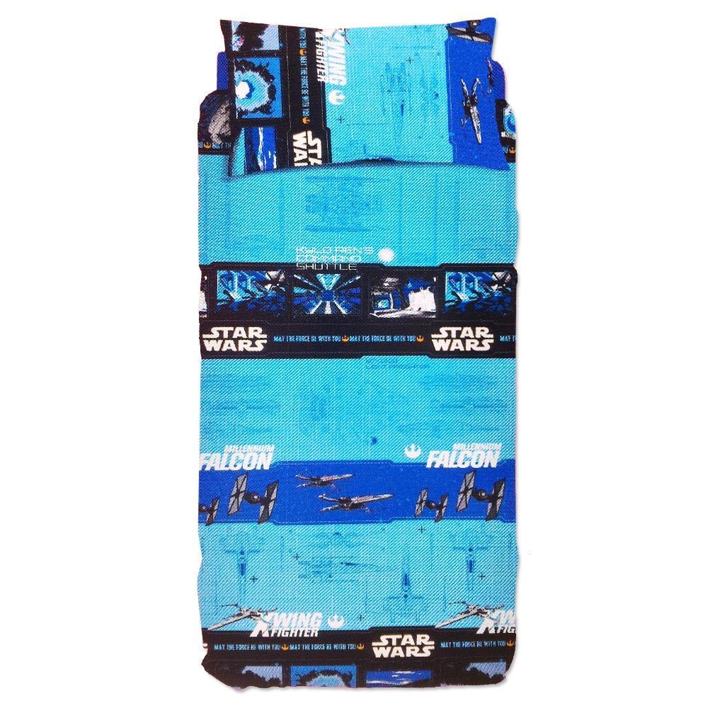 Copripiumino Matrimoniale Star Wars.Duvet Cover Set Single Bed Bassetti Star Wars Luke Glows In The Dark