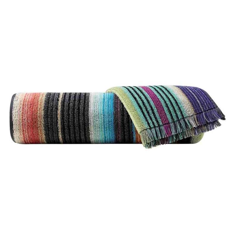 Missoni Home 5 Towel Set 1 Bath Sheet 2 Bath Towels 2 Hand