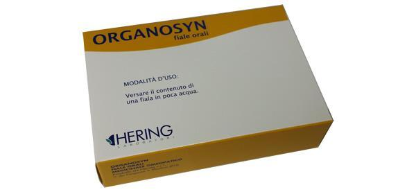 ORGANOSYN 25 FIALE ORALI HERING - MEDICINALE OMEOPATICO
