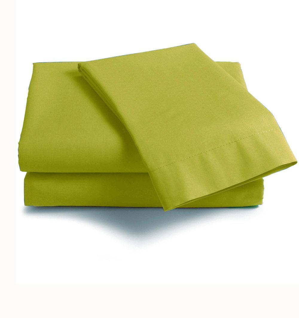 Copripiumino Verde Acido.Lenzuola Matrimoniale Cotone Angoli Istar Materassi Maxi Verde Acido