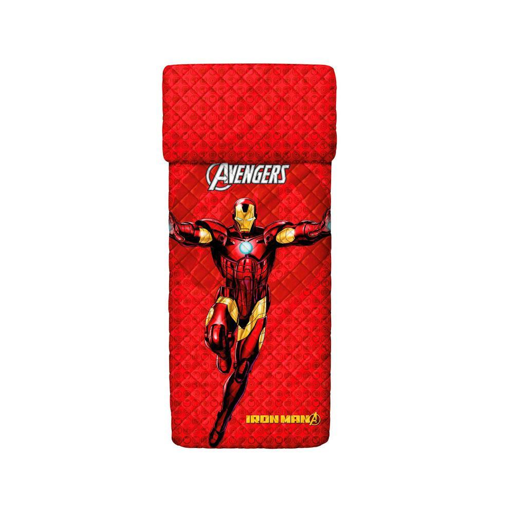 Single quilted bedspread 1 square BASSETTI AVENGERS Iron Man