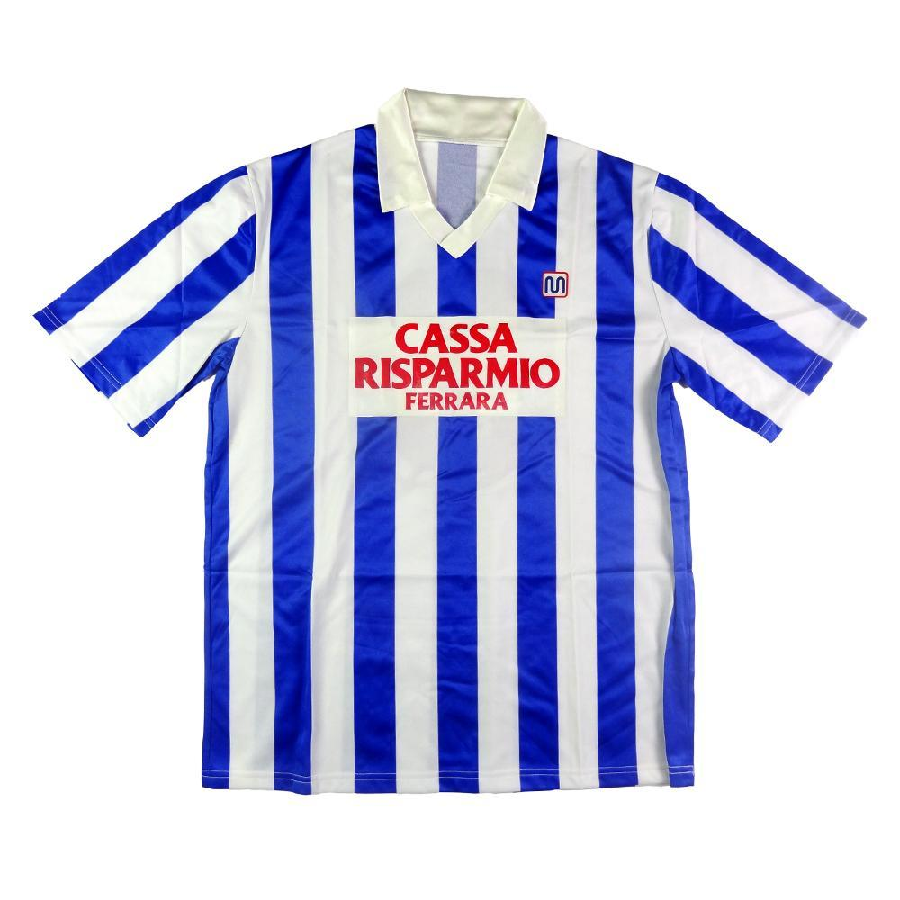 5860b09d713 1986-87 Spal SHIRT Home #8 Match worn XL (Top) - TOP VINTAGE FOOTBALL