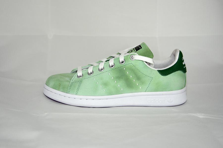 hot sale online 4cb27 b14cf Stan Smith Hu Holy Pharrell William - Verde