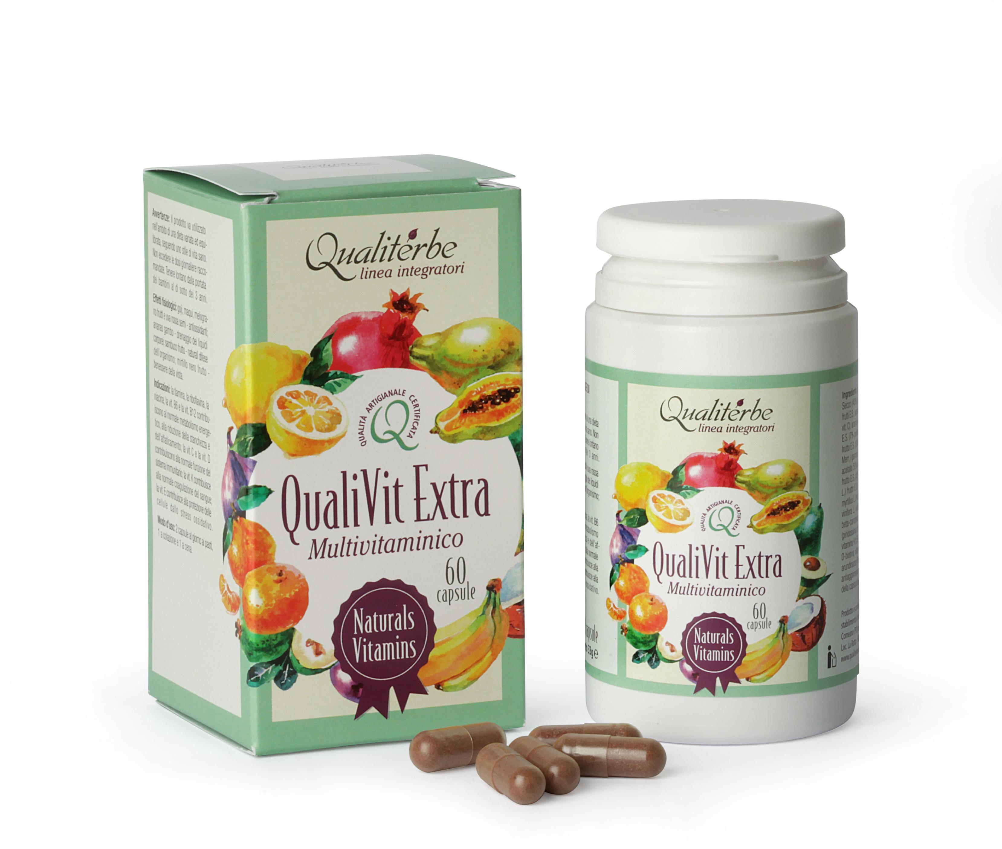 QualiVit Extra - Vitamine ed estratti vegetali