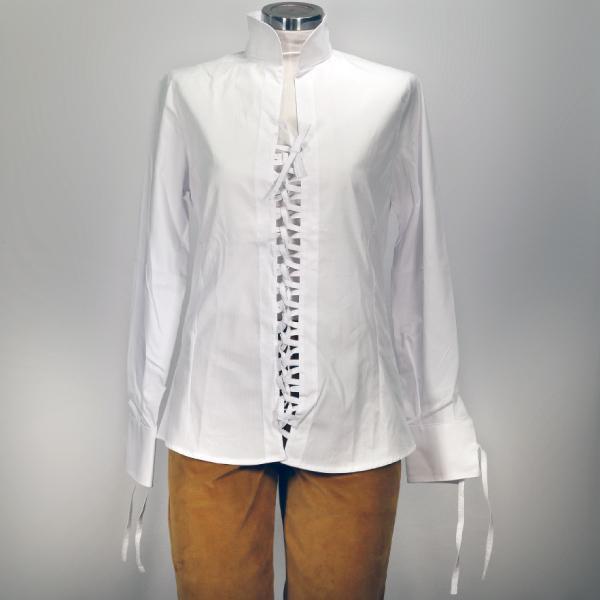 promo code 28775 69a7a Camicia Cotone Bianca Donna