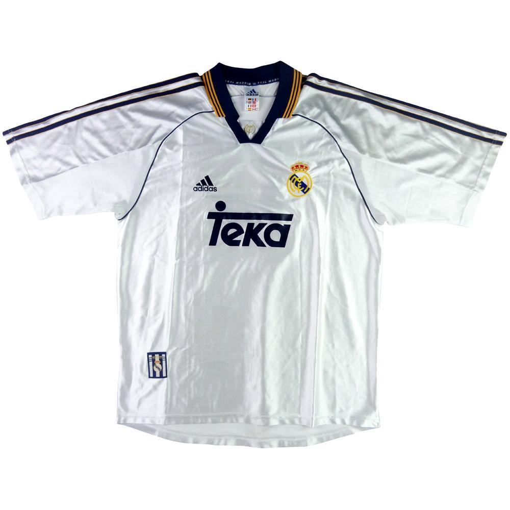 f783609c0b5 1998-00 Real Madrid SHIRT Home M - TOP VINTAGE FOOTBALL