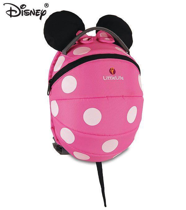 2ffecbeaf0 Zaino zainetto scuola asilo Littlelife Minnie Disney Rosa +3 ANNI - Il  Mondo Baby