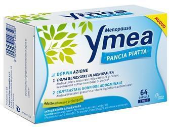 YMEA PANCIA PIATTA 64 CPR INTEGRATORE ALIMENTARE SU BASE NATURALE UTILE PER CONTRASTARE I DISTURBI DELLA PREMENOPAUSA E MENOPAUSA