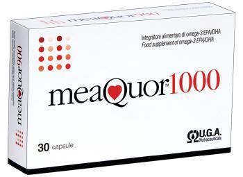 MEAQUOR 1000 OMEGA-3 EPA/DHA