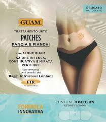 GUAM TRATTAMENTO URTO PATCHES PANCIA E FIANCHI