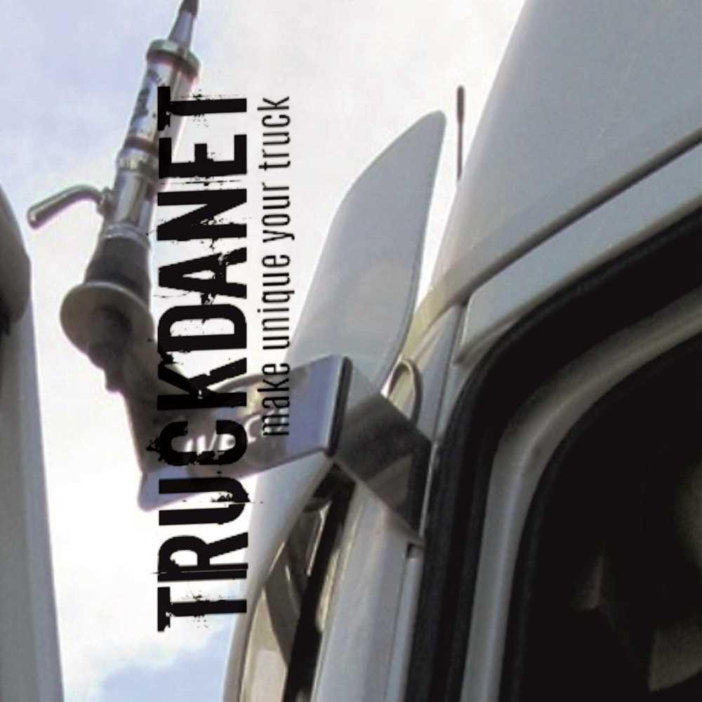 STRALIS HIWAY STRALIS CUBE TRUCKDANET Accessorio in acciaio INOX per camion Staffa per antenna CB .Ideato per camion STRALIS