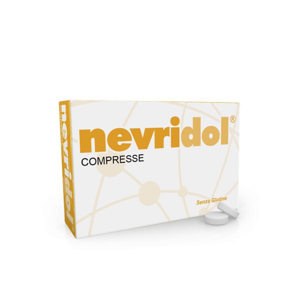 NEVRIDOL COMPRESSE AD AZIONE ANTIOSSIDANTE PER IL TROFISMO DELLE CELLULE NERVOSE