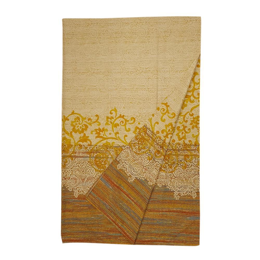 180x270 cm Bassetti bassetti granfoulard telo arredo capri var.4 giallo puro cotone