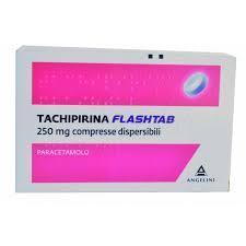 TACHIPIRINA FLASHTAB - PARACETAMOLO COMPRESSE ORODISPERSIBILI ANGELINI