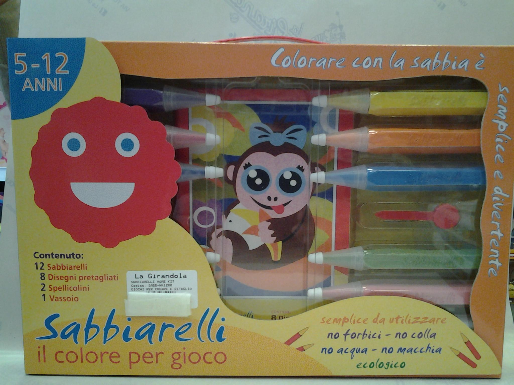 Sabbiarelli Home Kit La Girandola Giocattoli