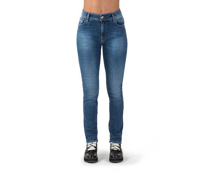 nuovo di zecca 5425e 92136 Altair high waist EcoGeco stone wash - Bio Jeans donna vita alta