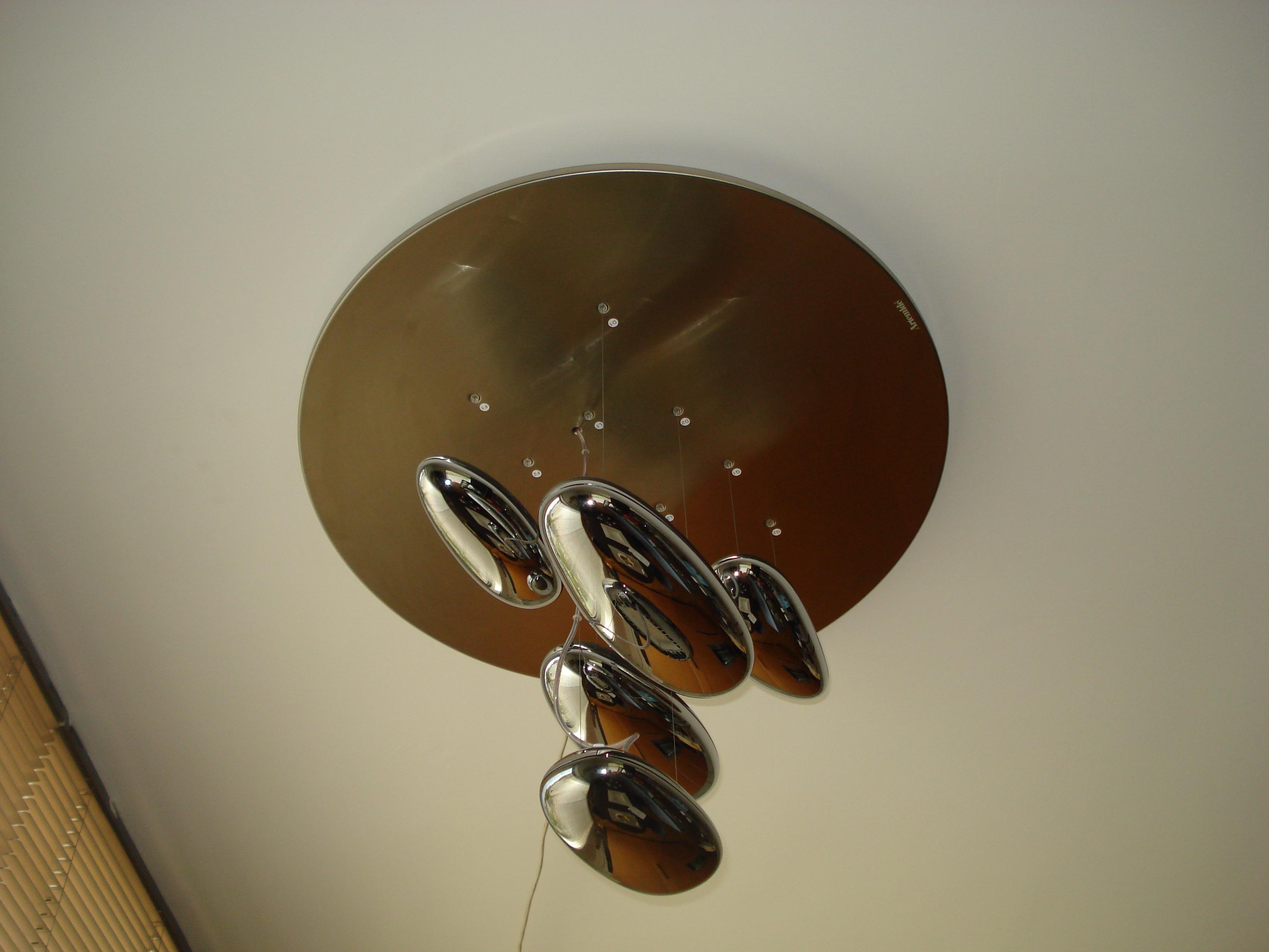Plafoniere Con Lampadine Led : Artemide plafoniera mod mercury piccola con lampadina led