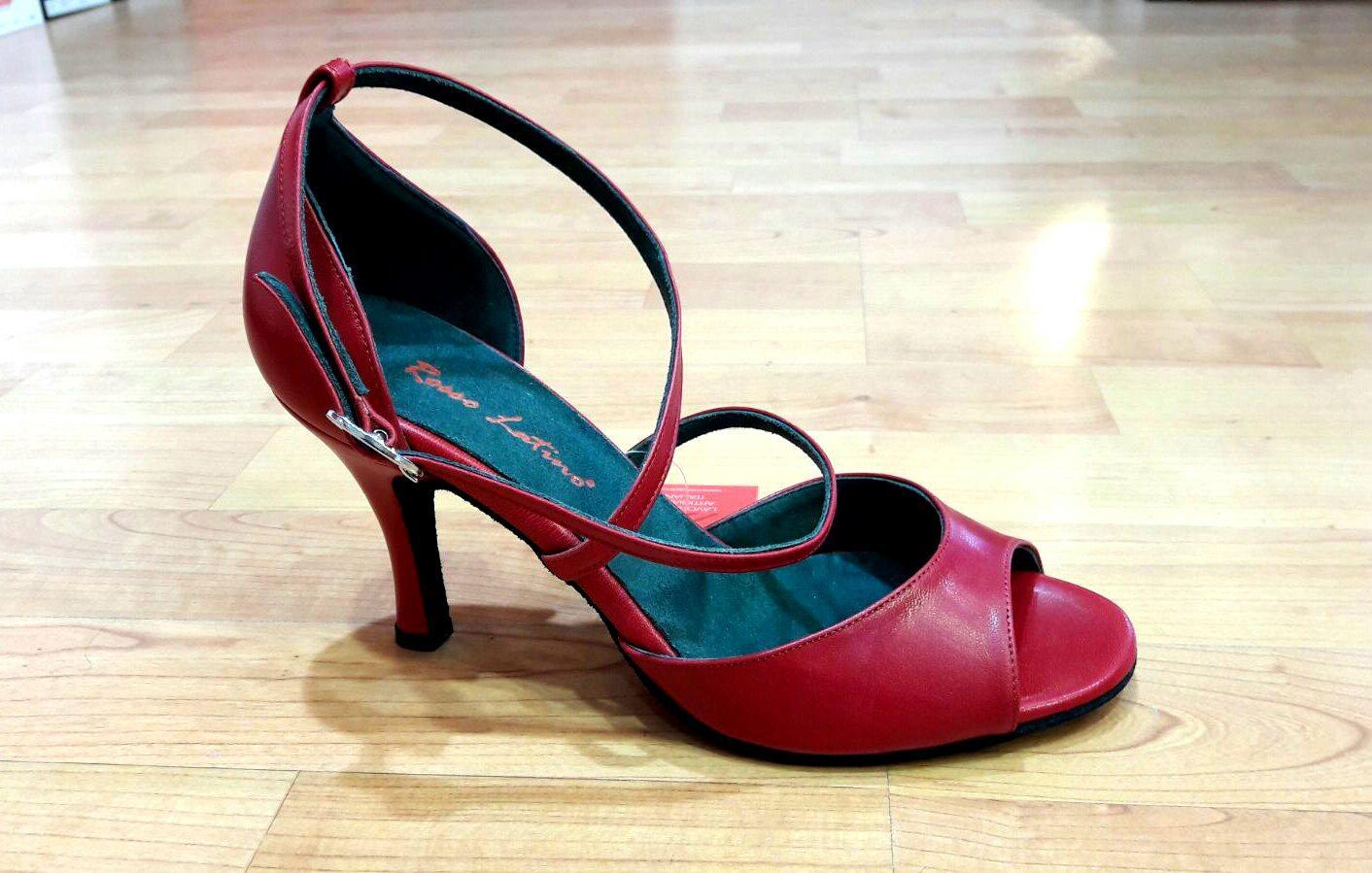 2019 professionista selezione migliore Los Angeles Scarpe da ballo Rosso latino rosse - FILOSOGNANDO