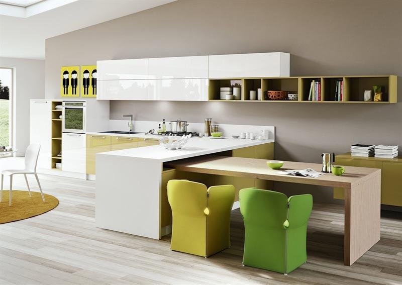 Cucina Arredo 3 modello Young laminato lucido - Dimensione Casa