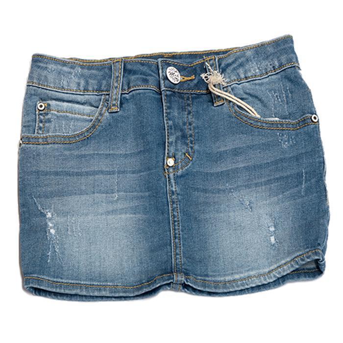promo code a8896 38bed Gonna Jeans Mek - MATTIVI DI CLAUDIA ZENI