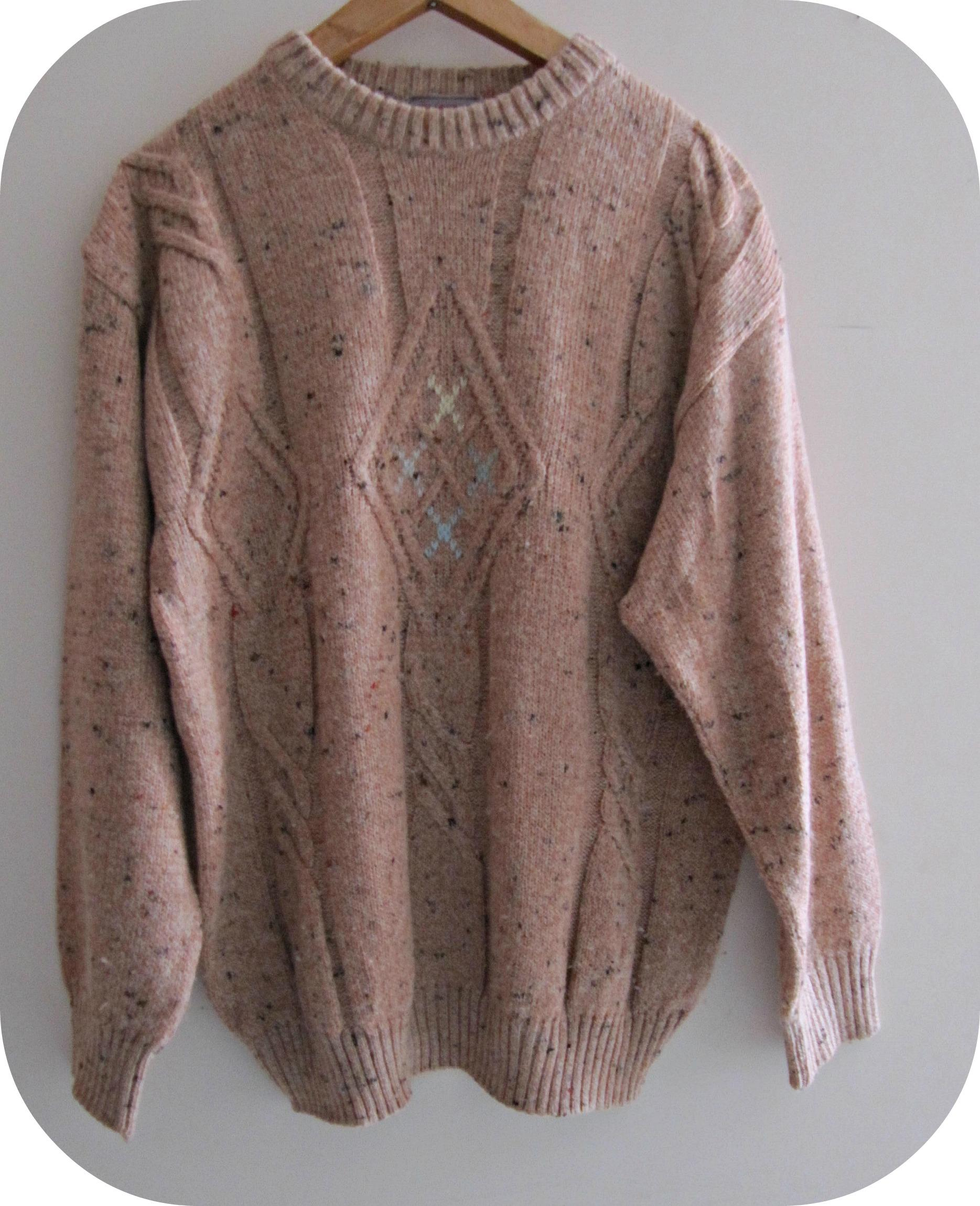 low priced 51d2f 0369c Maglione vintage rosa antico ,tg M