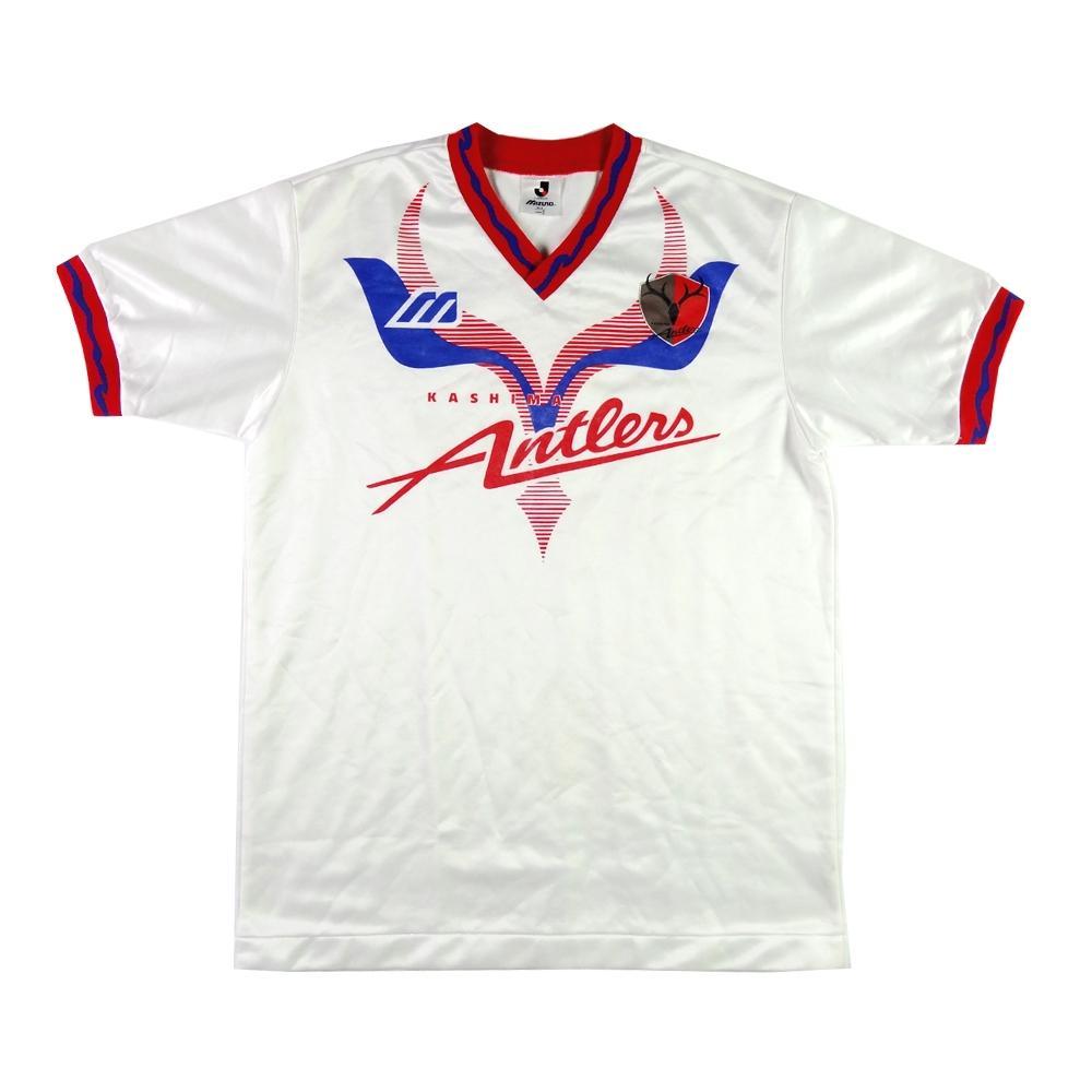 1994-95 Kashima Antlers SHIRT Away L (Top) - TOP VINTAGE FOOTBALL 041c9c2fb