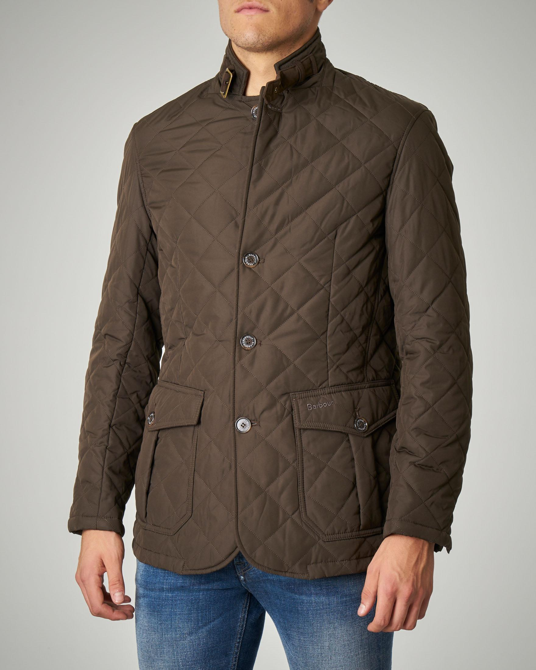 Giacca Quilted Lutz verde