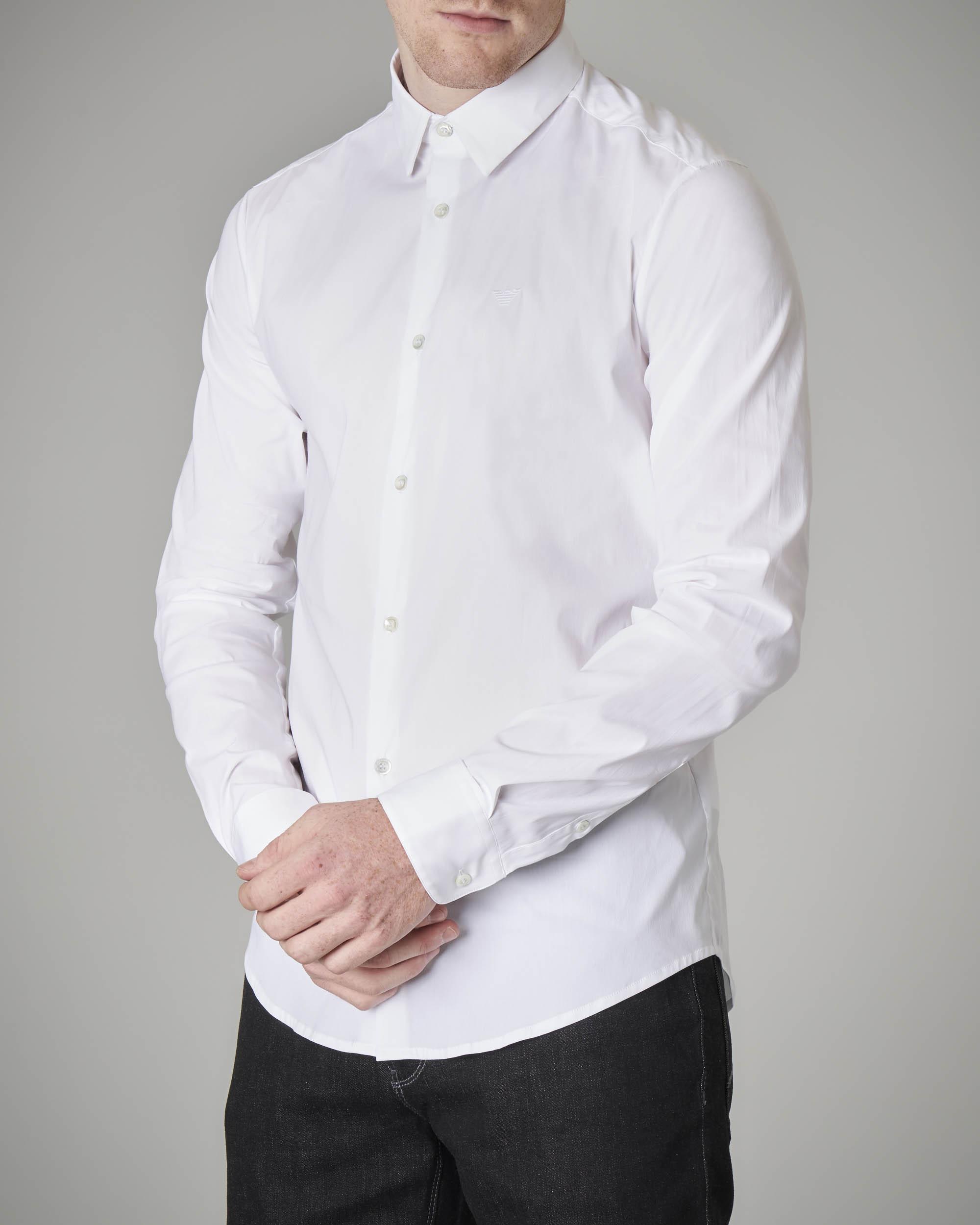 Camicia bianca stretch