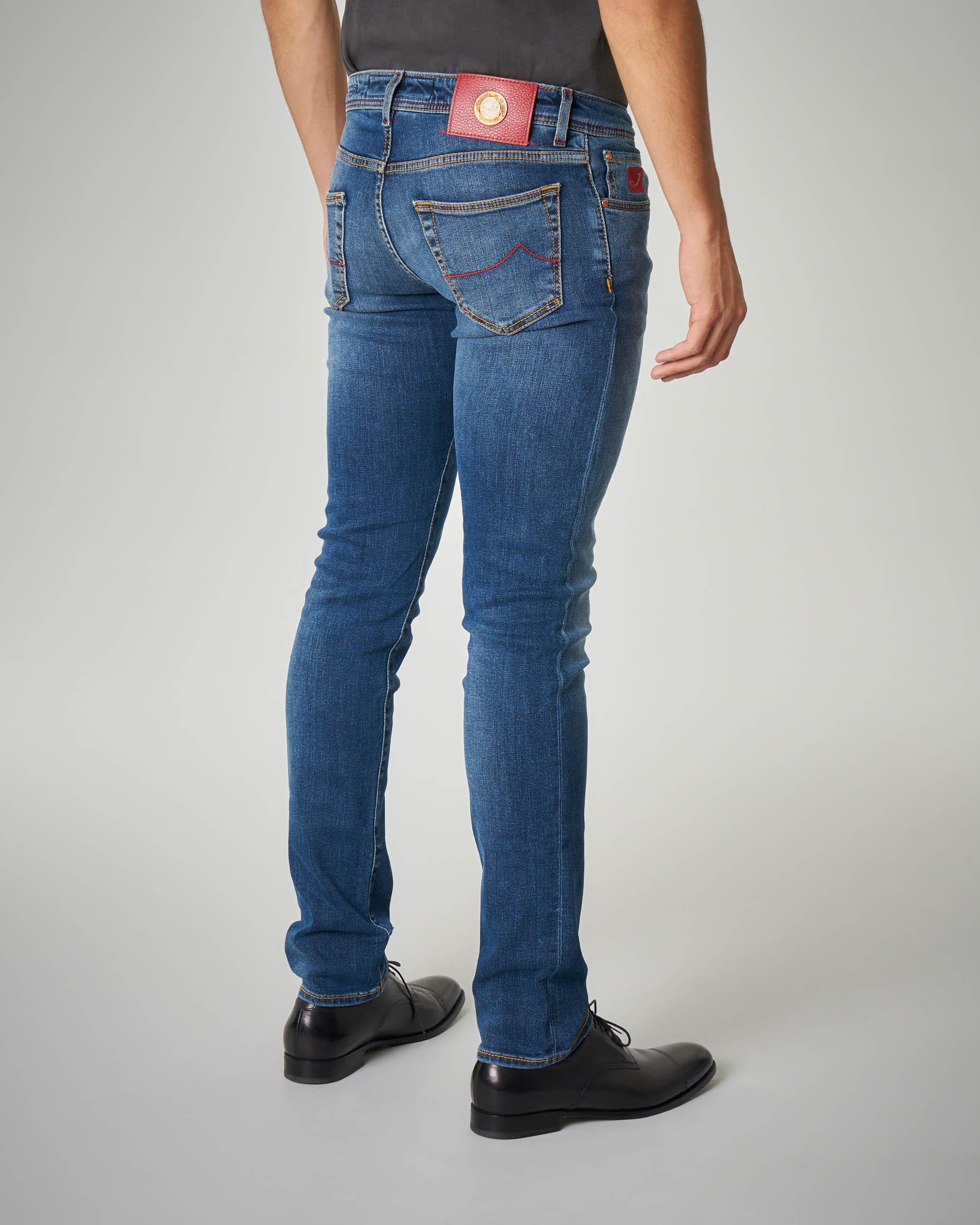 Jeans lavaggio medio-chiaro