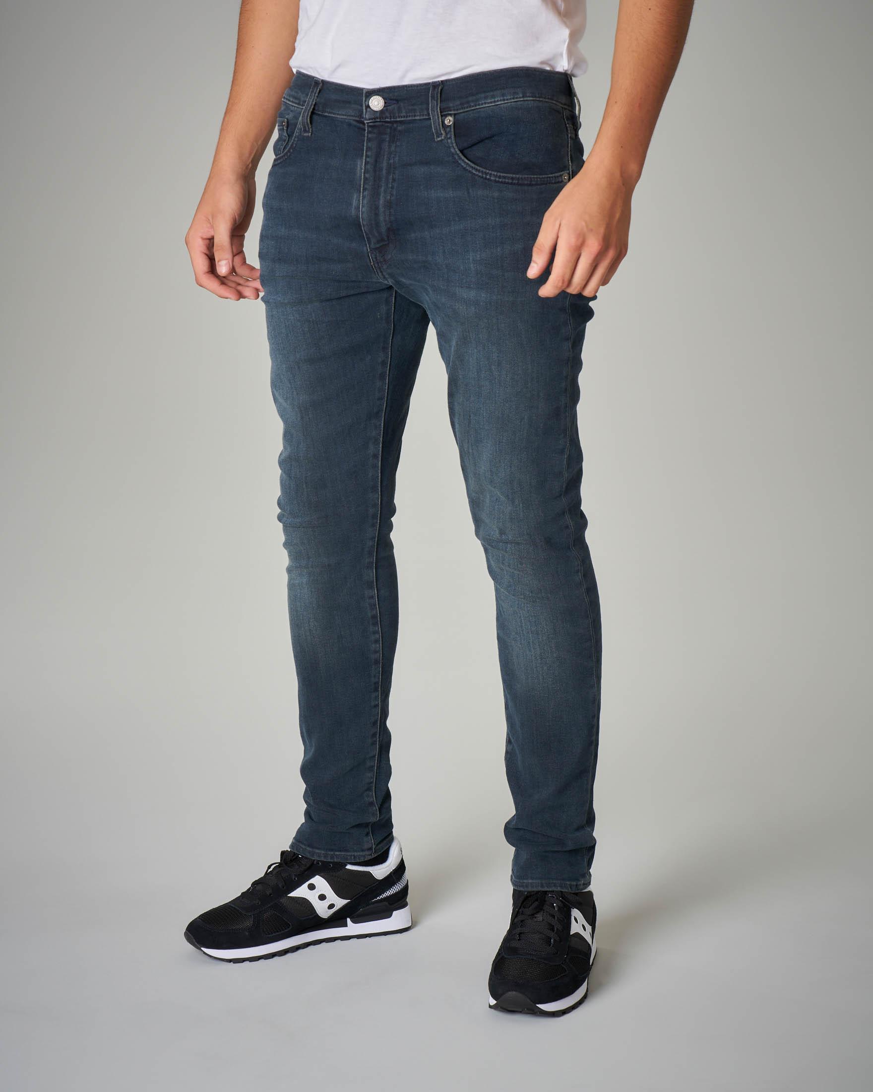 Jeans 512 blu sbiancato