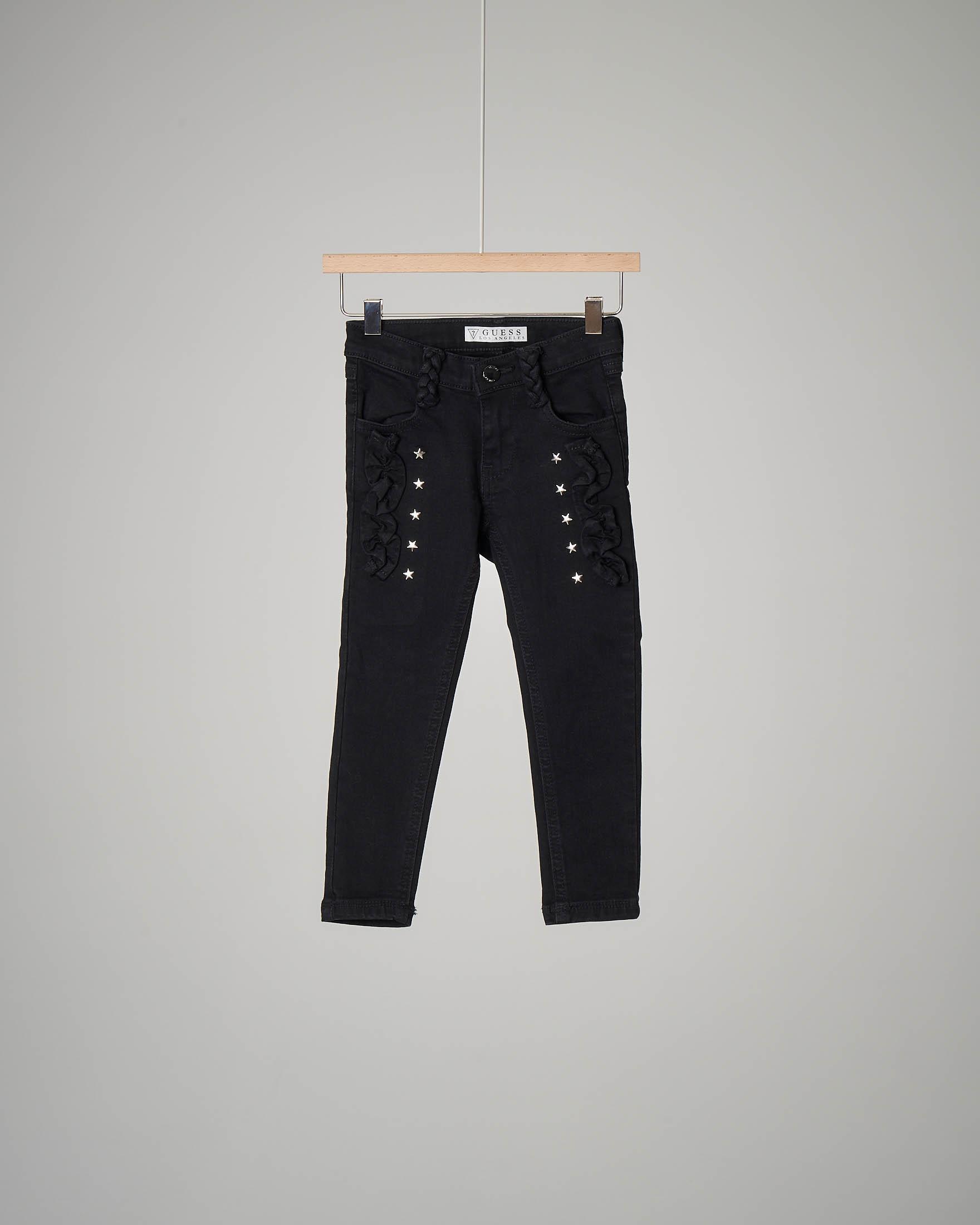 Jeans nero stelle