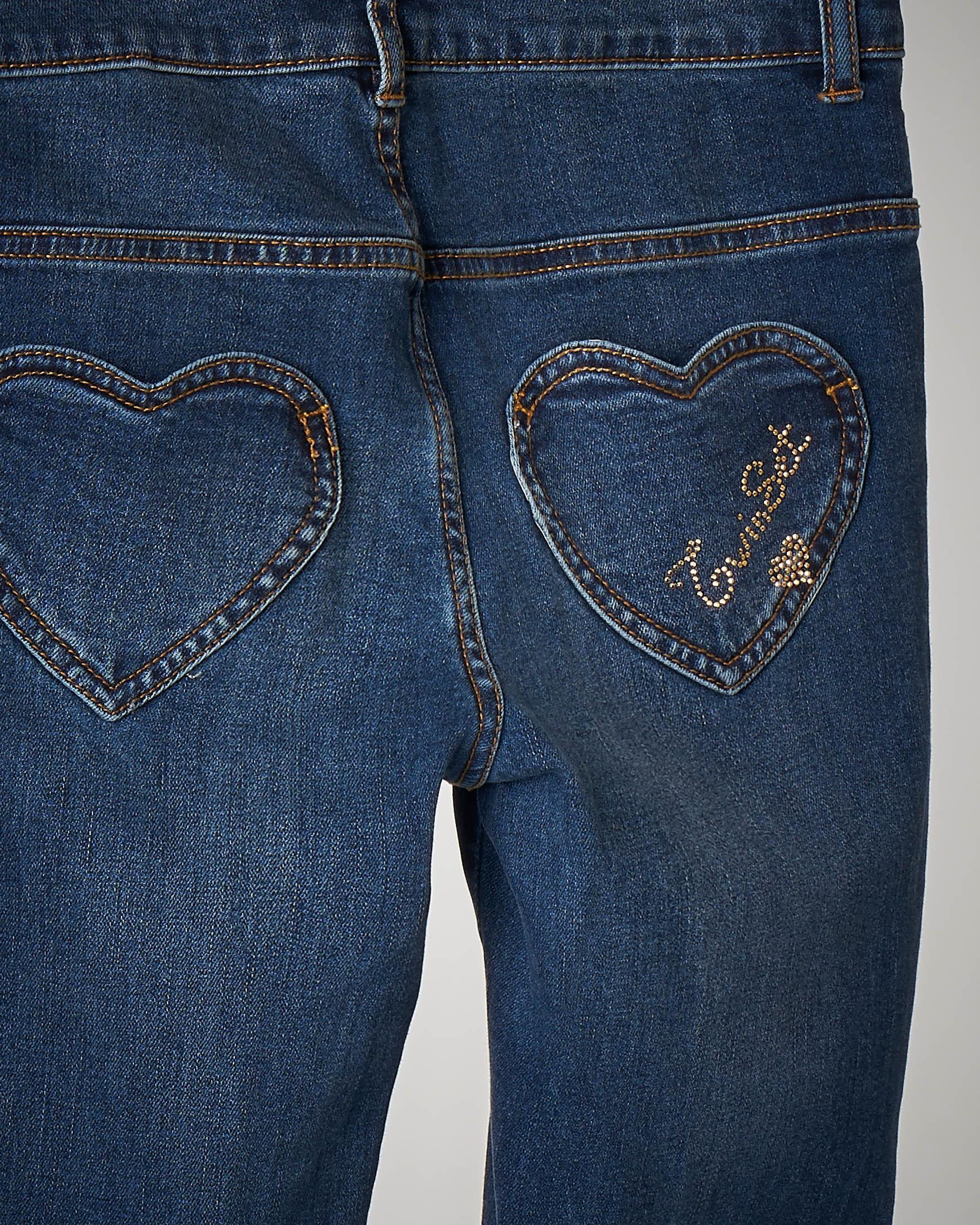 Jeans tasche cuore