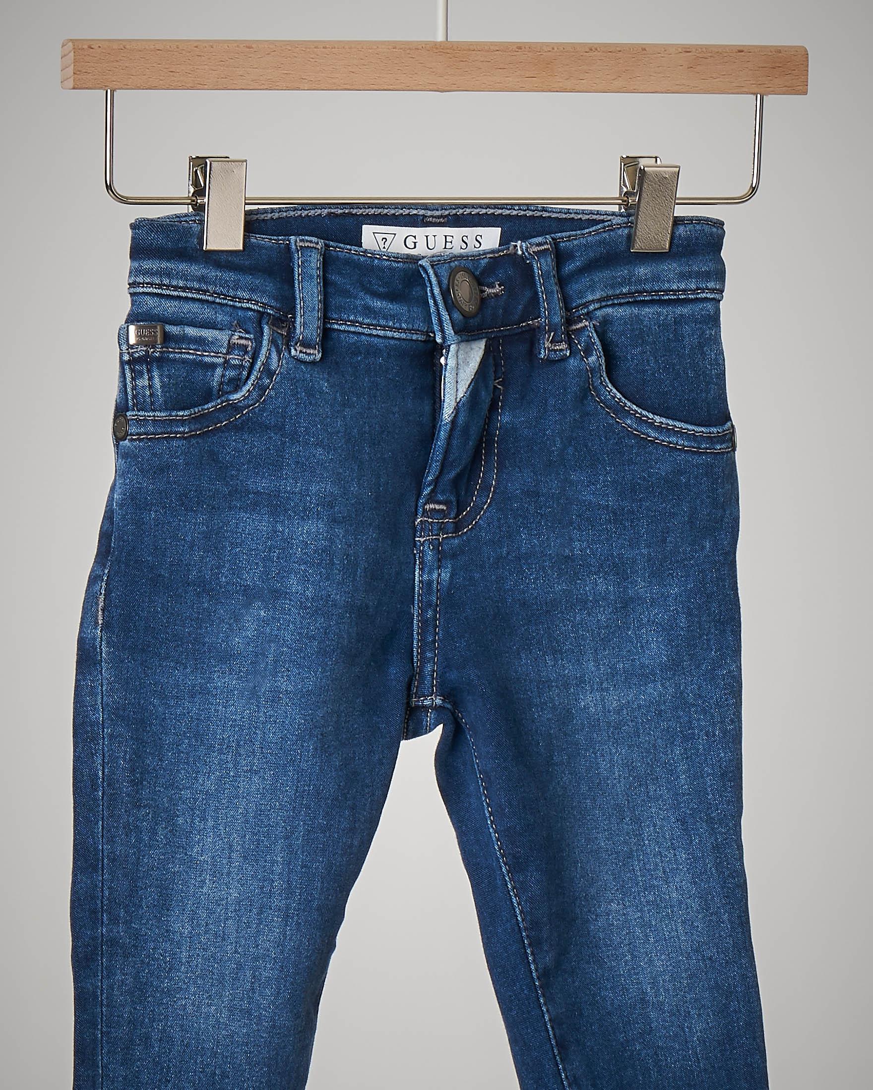 Jeans abrasioni
