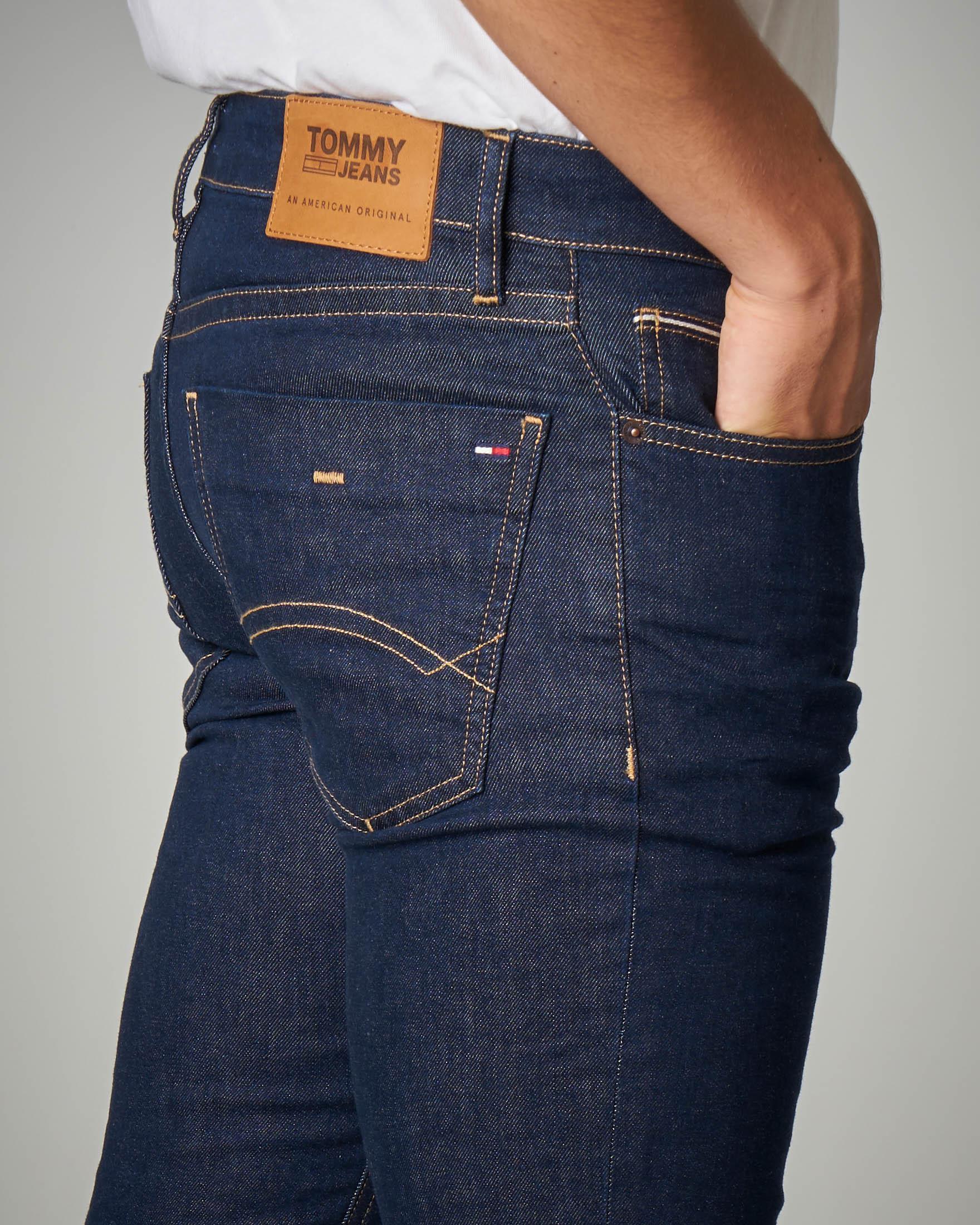 Jeans slim-fit blu scuro