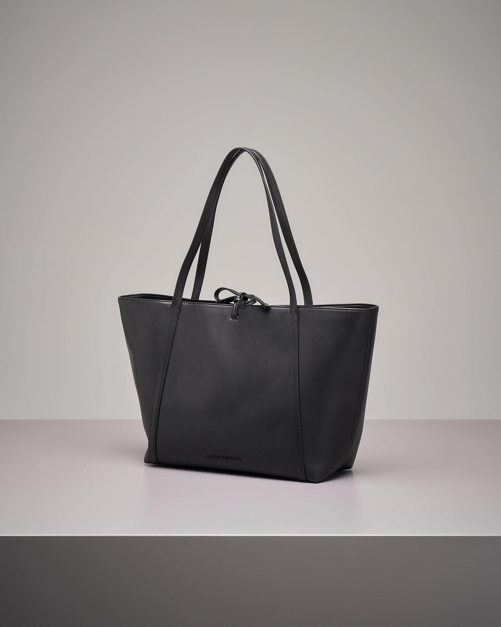 Shopping bag nera grande