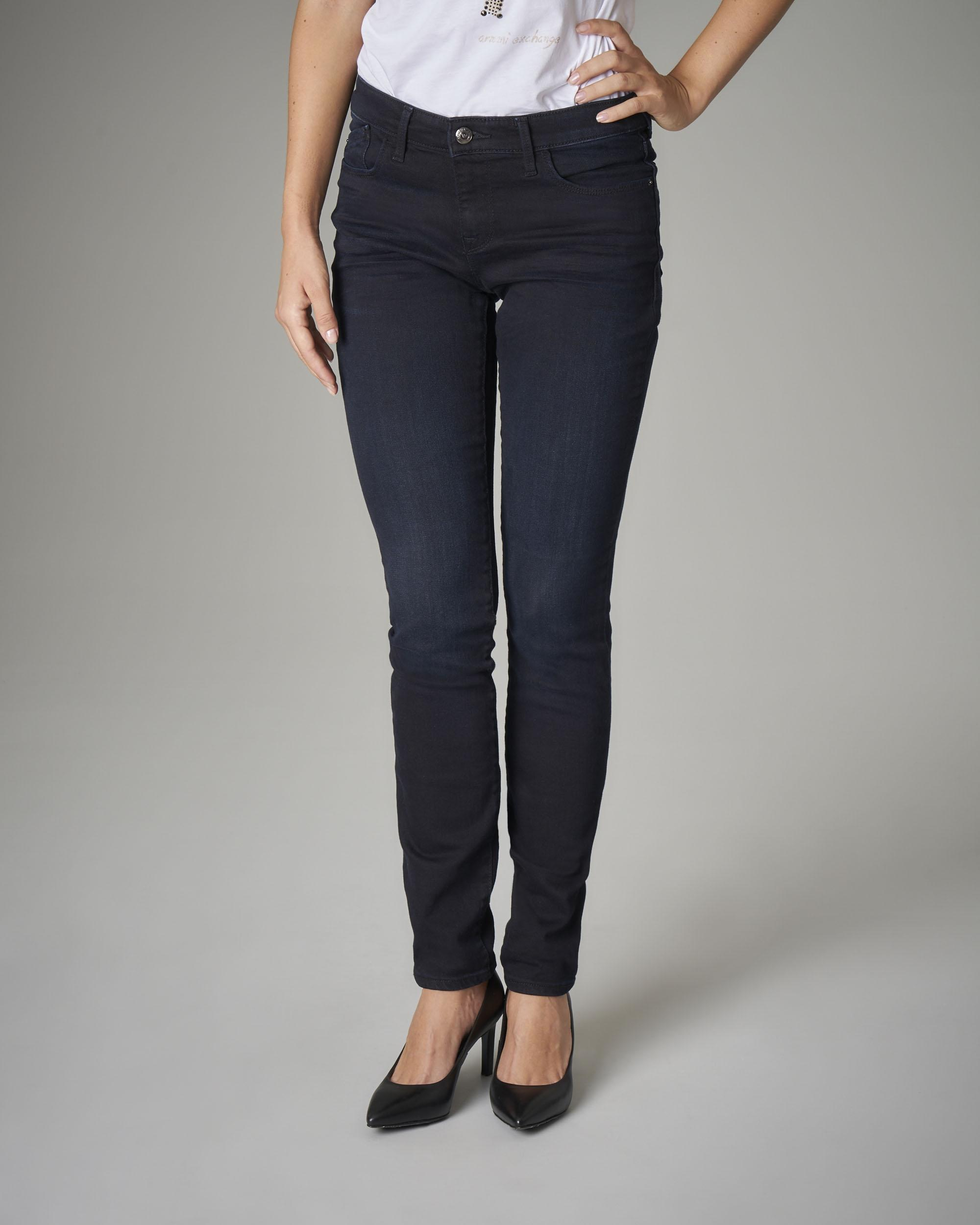 Jeans skinny elasticizzati blu