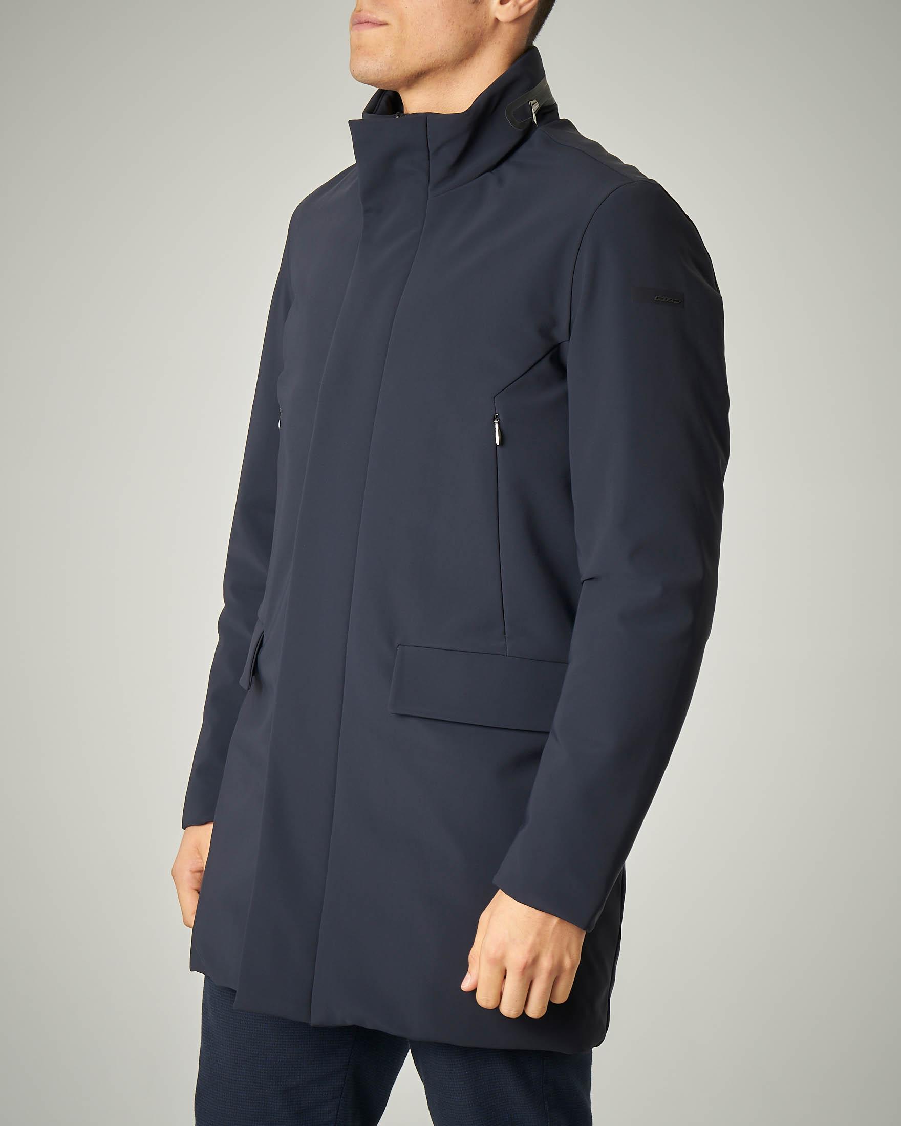 Winter Rain Coat blu