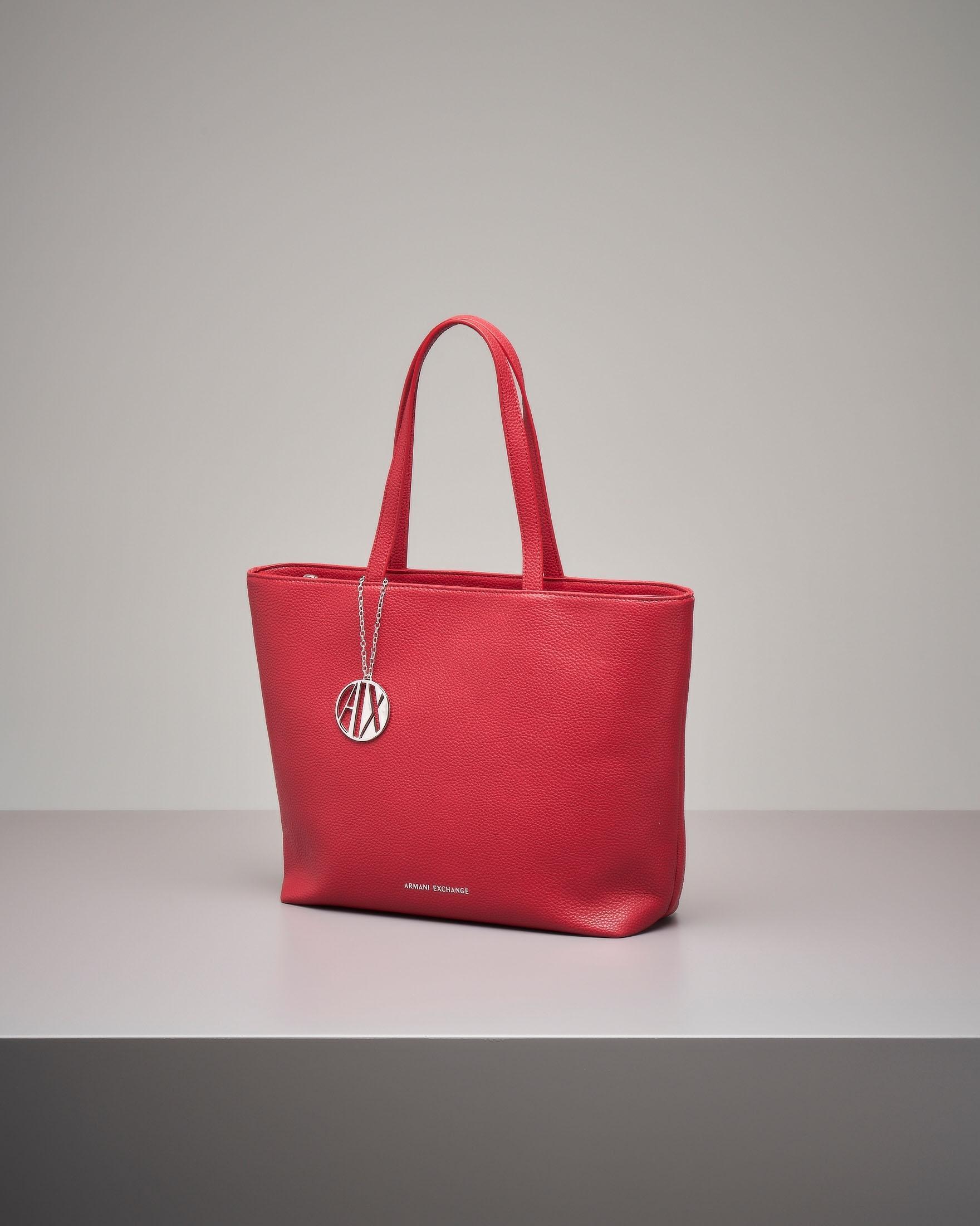 Shopping bag rossa media