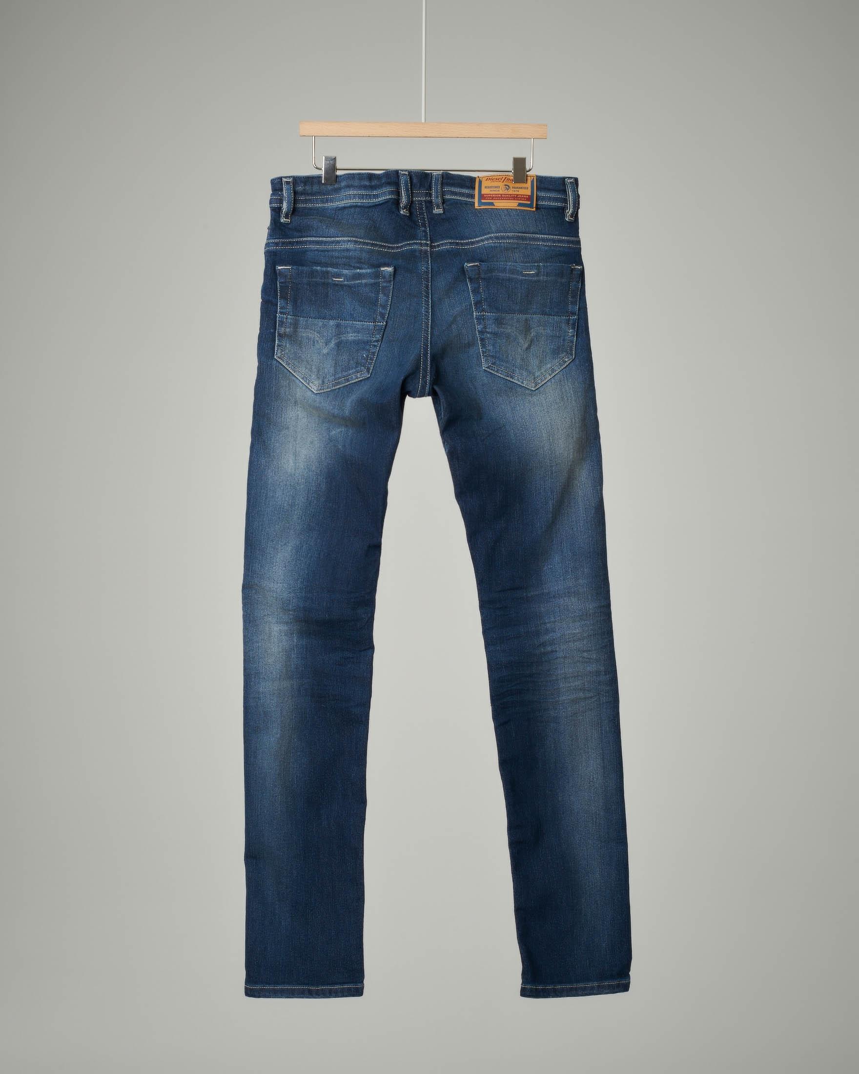 Jeans lavaggio medio skinny fit
