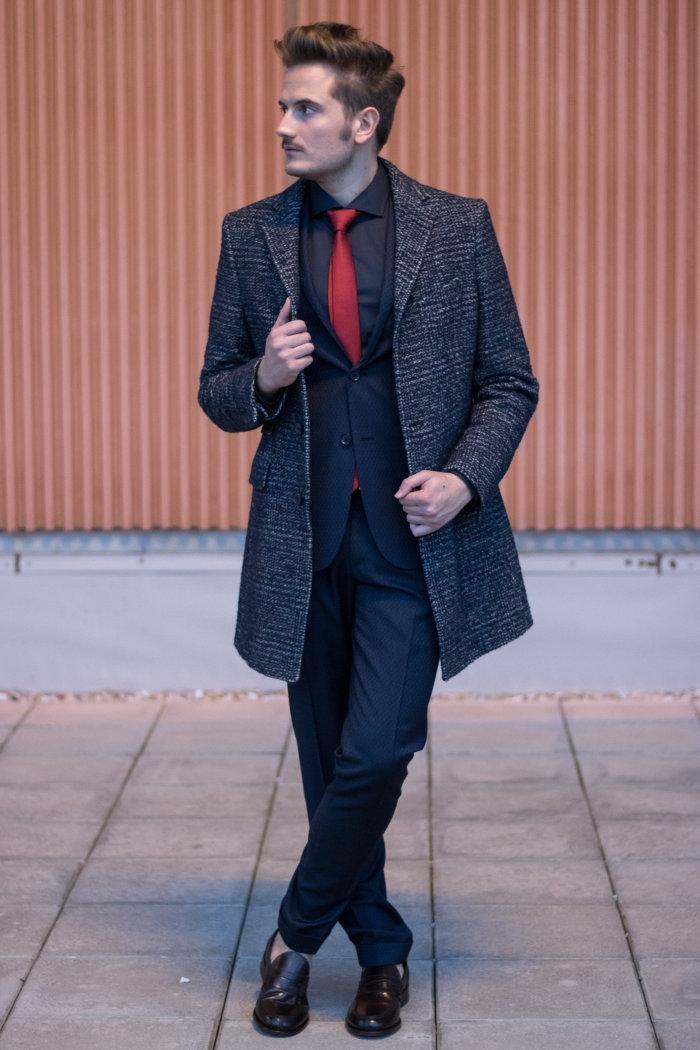 Vestiti Eleganti Hugo Boss.Un Look Elegante