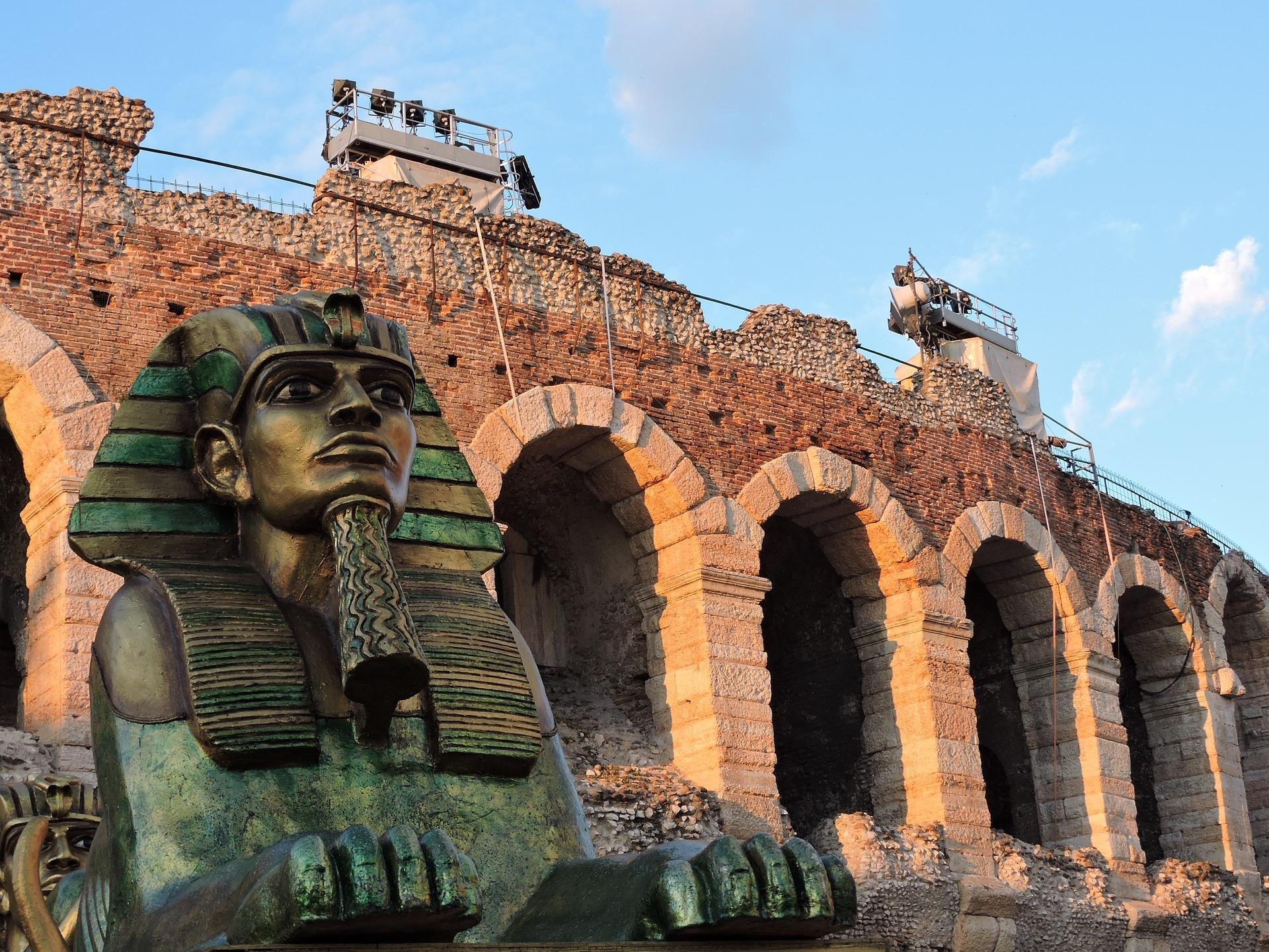 aida all'arena: weekend a verona