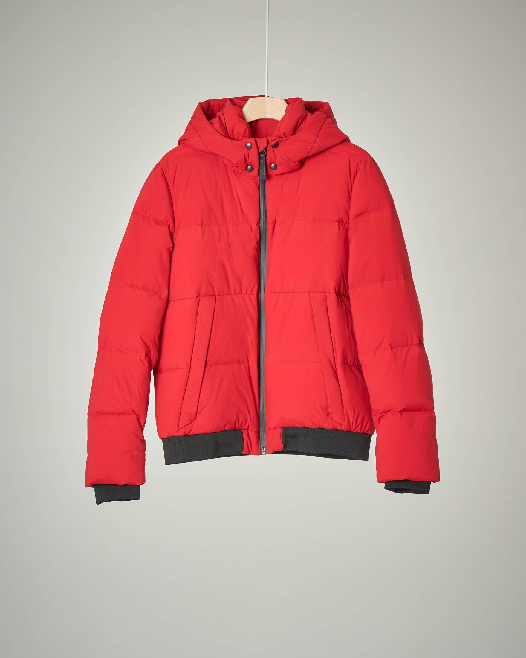Puffy trenton jacket rosso