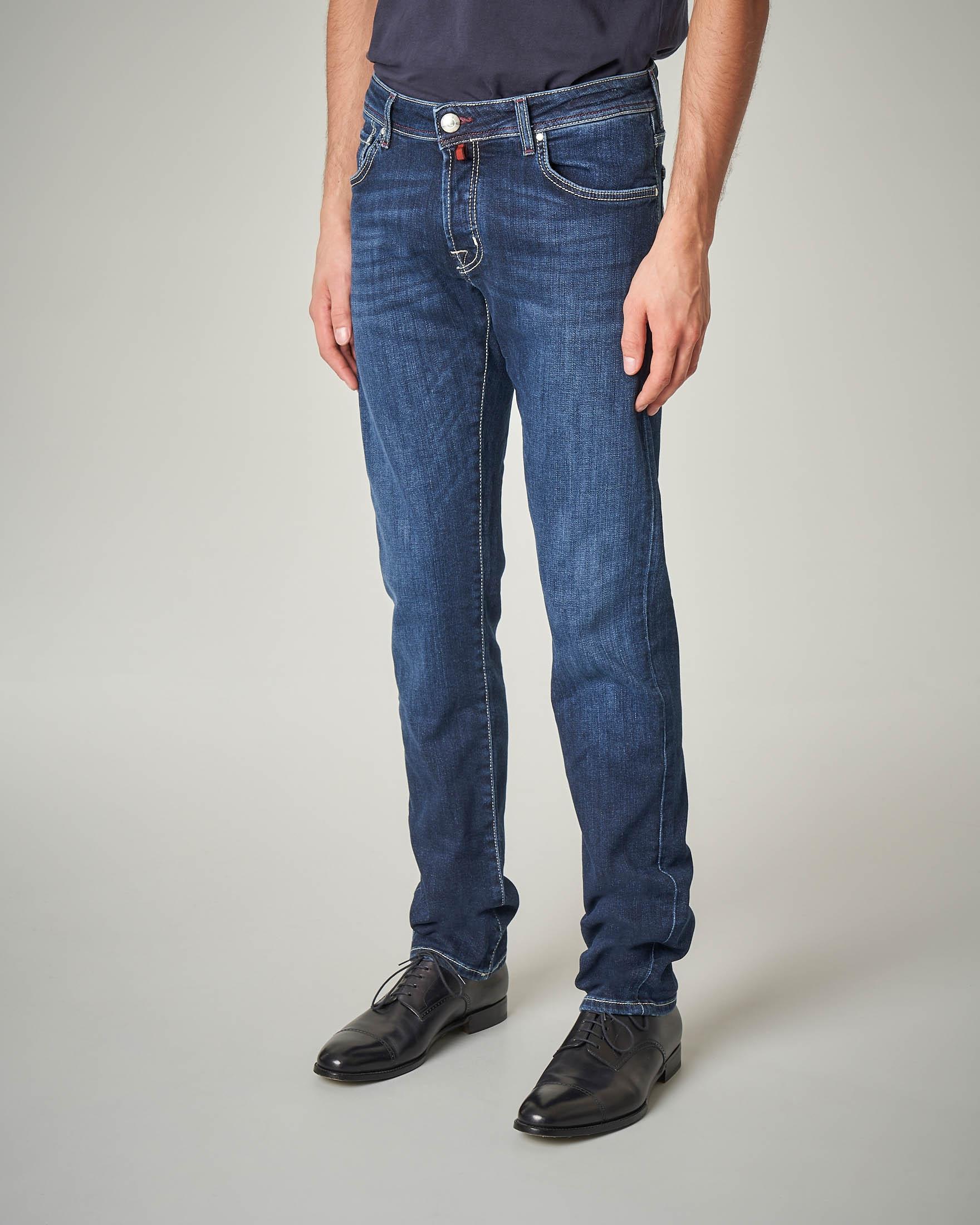 Jeans lavaggio medio-scuro