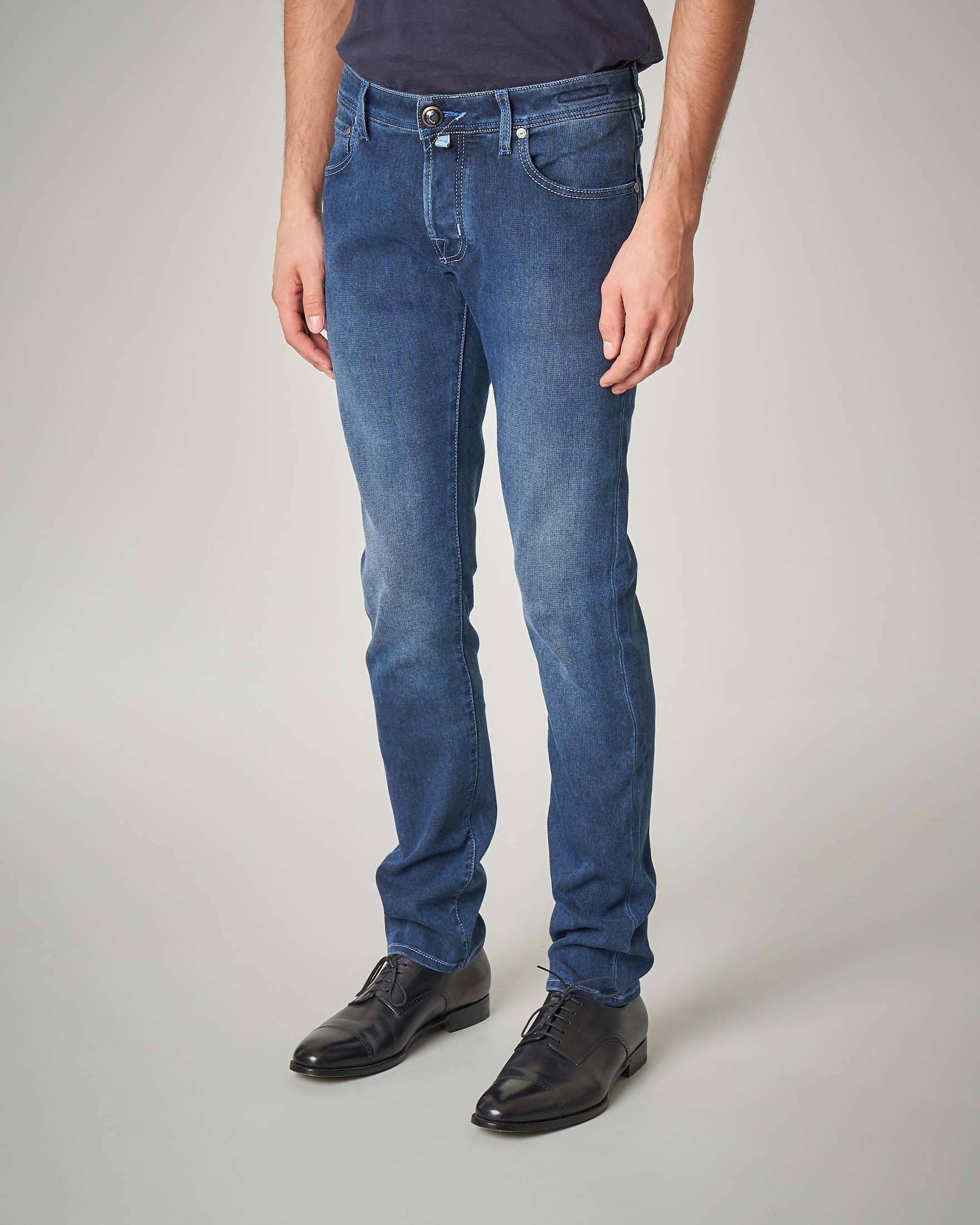Jeans lavaggio indaco