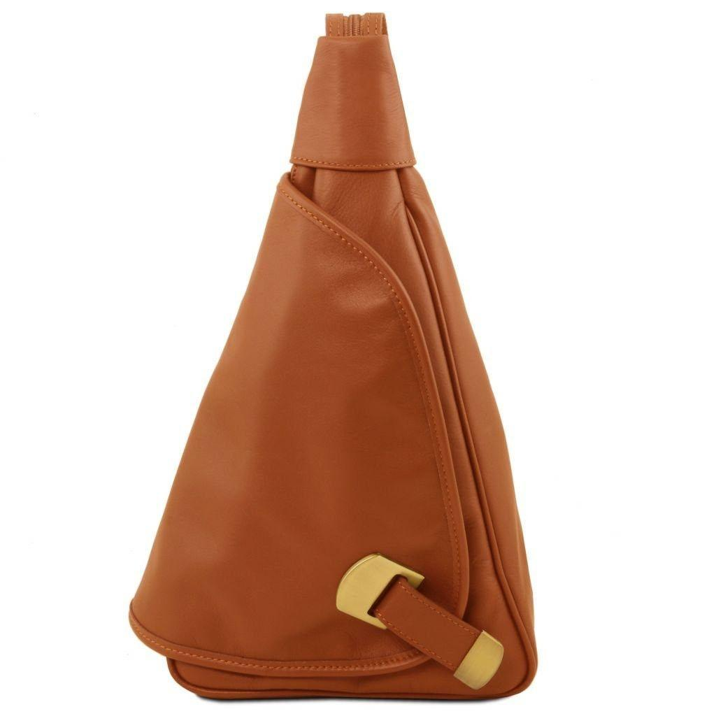 Tuscany Leather TL140966 Hanoi - Leather backpack Cognac - LaBorsetteria.com d9bfeeeb8b55f