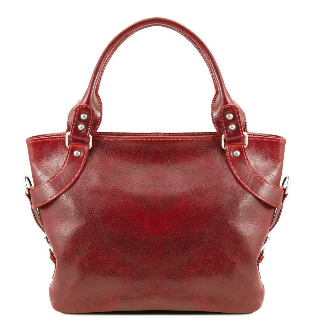 773a2e55be8d Tuscany Leather TL140899 Ilenia - Leather shoulder bag Red -  LaBorsetteria.com