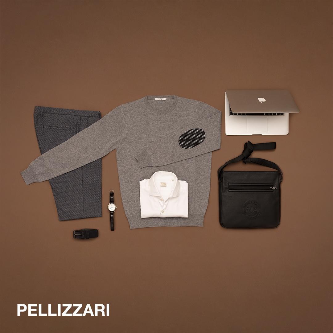 ce8b32193097 Per arricchire l'outfit, borsa in similpelle Armani Exchange, la cintura  nera Hugo Boss e orologio da polso. Libera scelta sì, ma con classe.